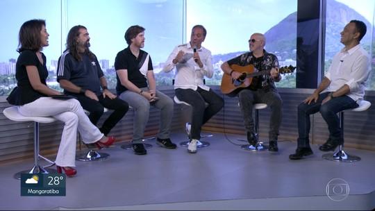 Biquini Cavadão faz show com a  banda Blitz