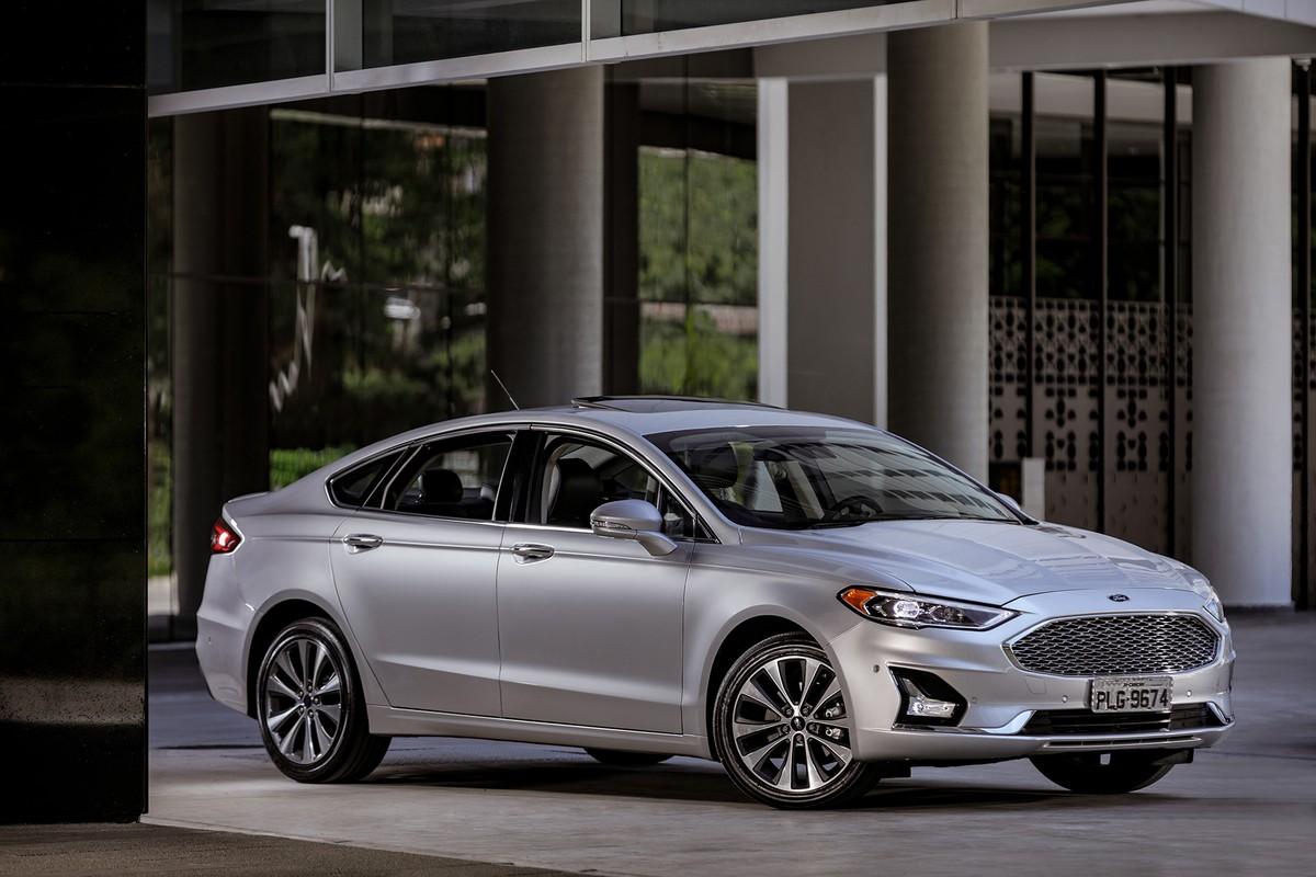 Ford Fusion 2019 chega com visual atualizado e preços a partir de R  149.900 e5cb6b5deb