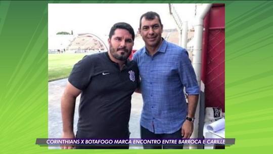 Rivais neste sábado, Eduardo Barroca reencontra o amigo Fábio Carille na Arena Corinthians