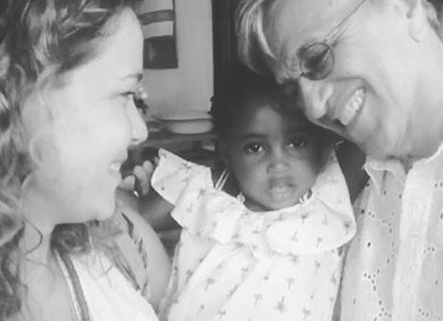 Leandra Leal faz homenagem a Caetano Veloso (Foto: Reprodução/Instagram)