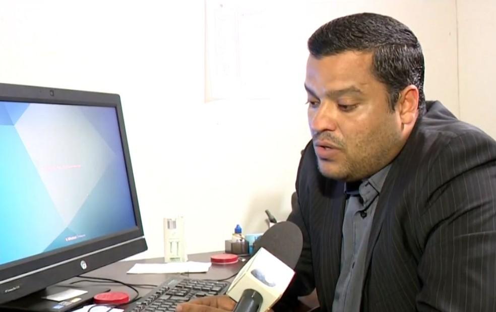 Delegado Adhemar Pereira Fully (Foto: Arquivo/ TV Gazeta)