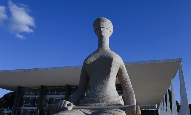 Fachada do STF, em Brasília
