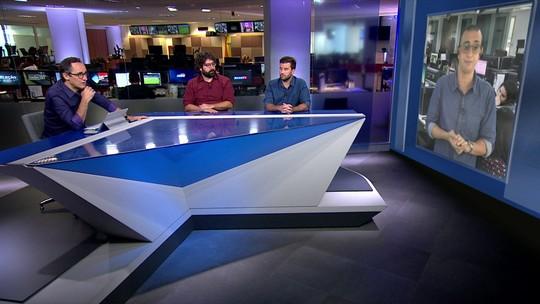 """Márvio destaca atuação de Martín Silva contra o Bahia: """"Fazia tempo que estava devendo"""""""