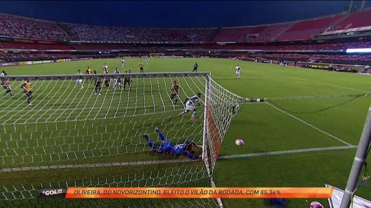 Estaduais: meia Otero é o abusado da rodada, e goleiro Oliveira, o vilão