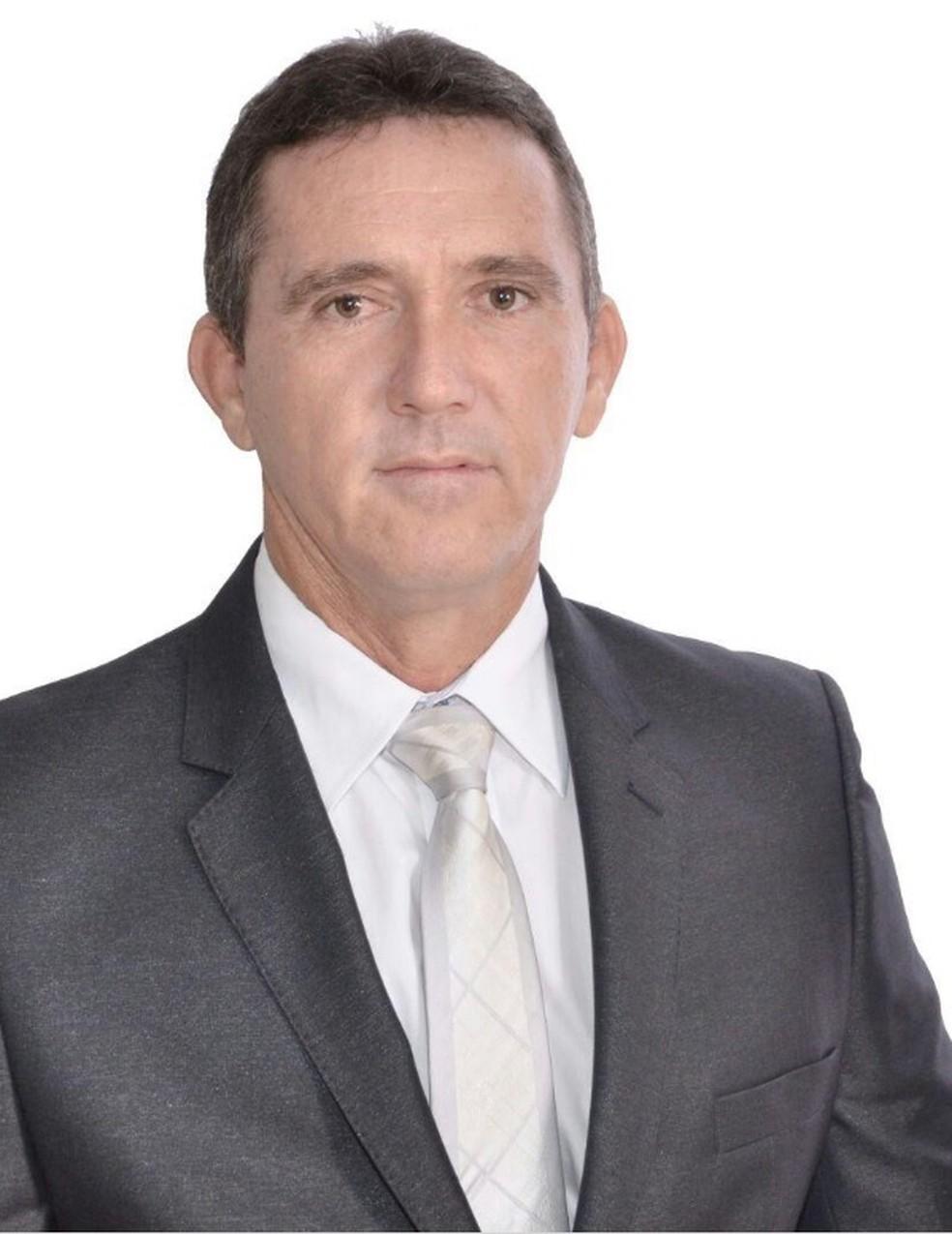O vice-prefeito de Nova Bandeirantes, Jeremias Menezes Baiocho (PP) (Foto: Prefeitura/Divulgação)
