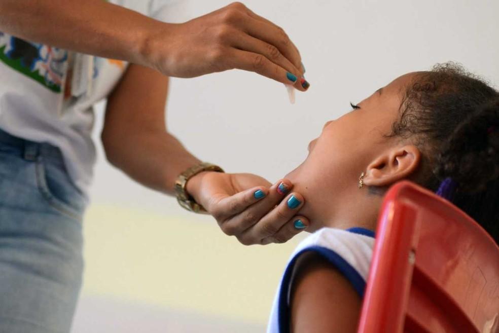 Campanha de vacinação contra sarampo e poliomielite tem dia extra neste sábado (Foto: Divulgação/Prefeitura de Salvador)