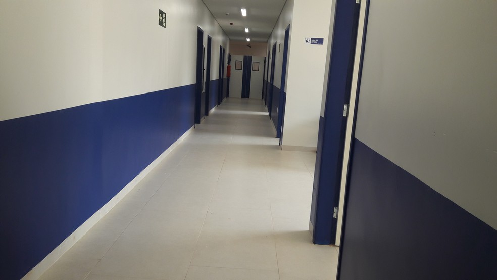 Hospital Municipal de Jaru foi orçado em R$ 4 milhões (Foto: Rede Amazônica/Reprodução)