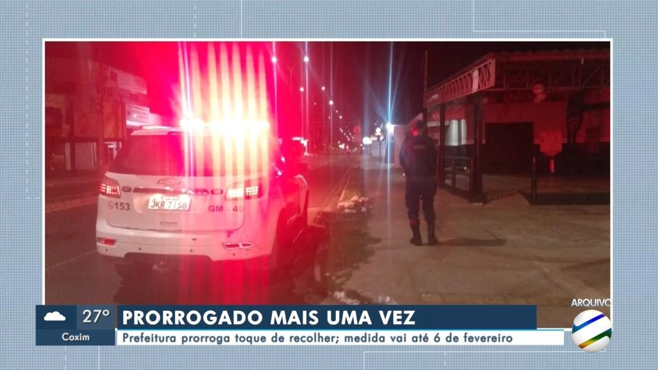 Prefeitura de Campo Grande prorroga toque de recolher; medida vai até 6 de fevereiro