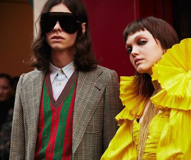 Gucci verão 2019 (Foto: Getty Images)