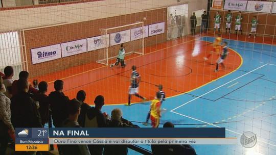 Ouro Fino vence Cássia por 4 a 2 e vai para a final da Taça EPTV de Futsal 2018