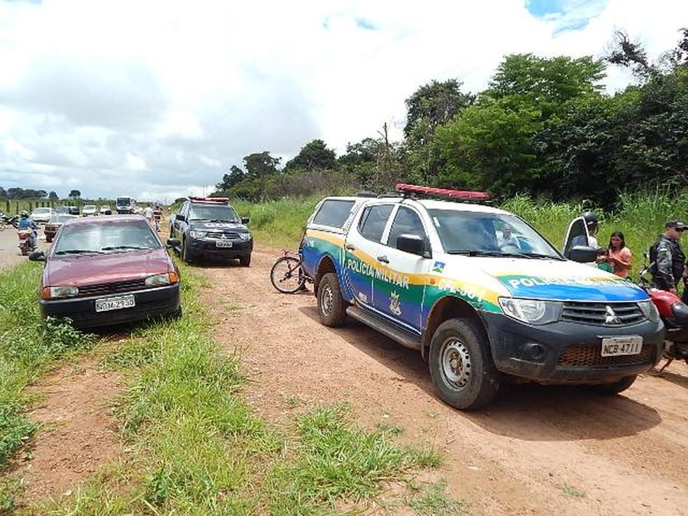 Grupo é suspeito de fazer vários assaltos (Foto: Extra de Rondônia/Reprodução)