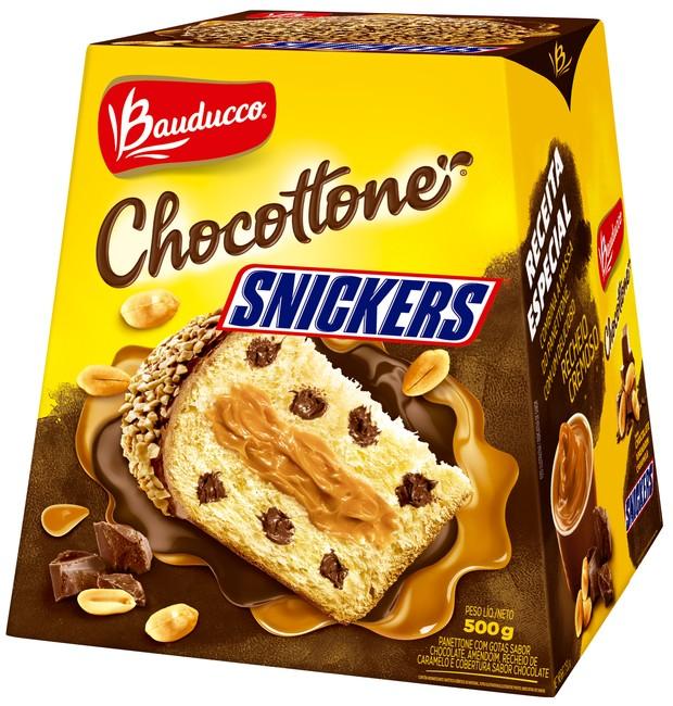 snickers-panetone (Foto: Divulgação)