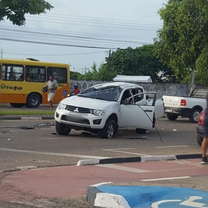 Motorista sem CNH se envolve em acidente de trânsito e dois ficam feridos em Boa Vista - Notícias - Plantão Diário