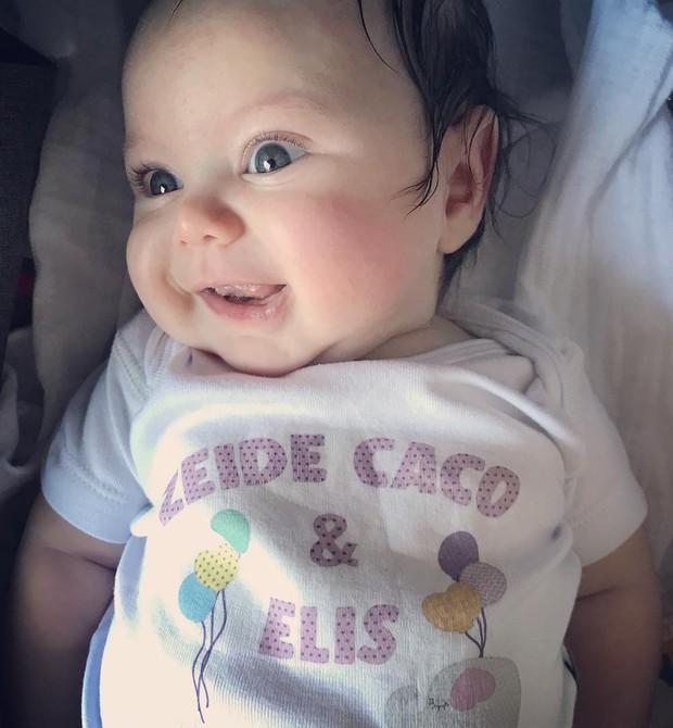 Elis é filha de Bruno Ciocler, 21 (Foto: Reprodução Instagram)