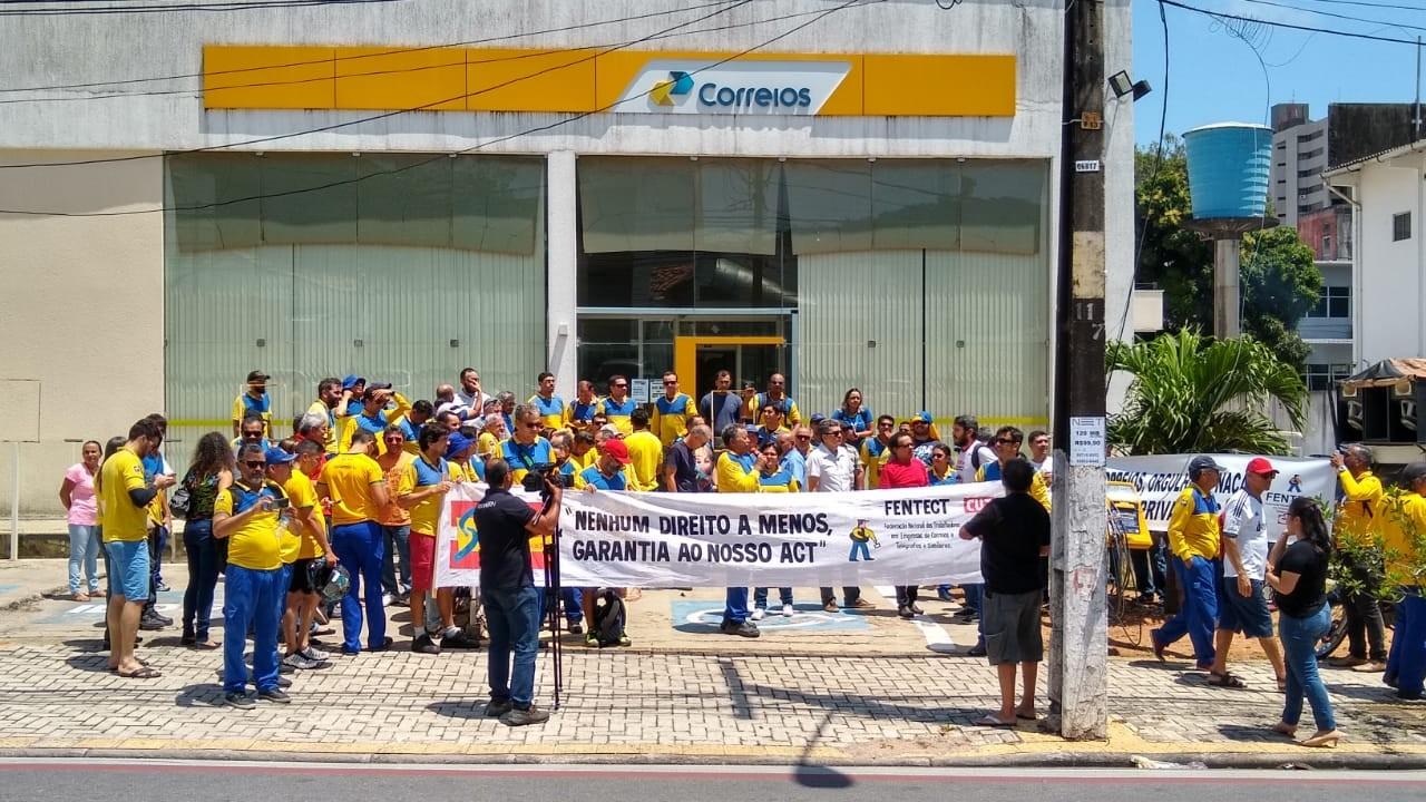 Trabalhadores dos Correios do Rio Grande do Norte encerram greve - Notícias - Plantão Diário
