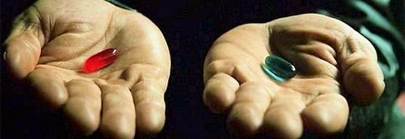 Frame da cena clássica de Matrix (Foto: reprodução)