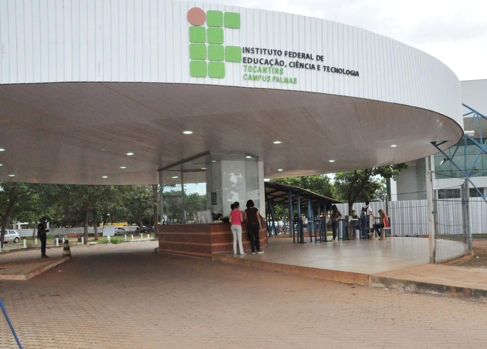 Sede do Instituto Federal do Tocantins em Palmas — Foto: Divulgação/IFTO