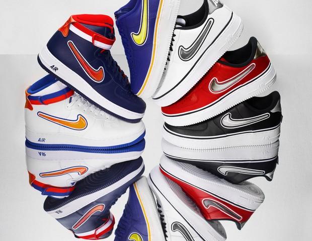 b439ff8a3dd Nike x NBA  nova coleção de tênis faz referência a Bulls