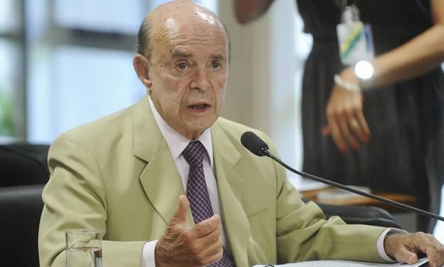 O vice-governador do Rio, Francisco Dornelles (PP-RJ)  (Foto: Marcos Oliveira / Ag. Senado)