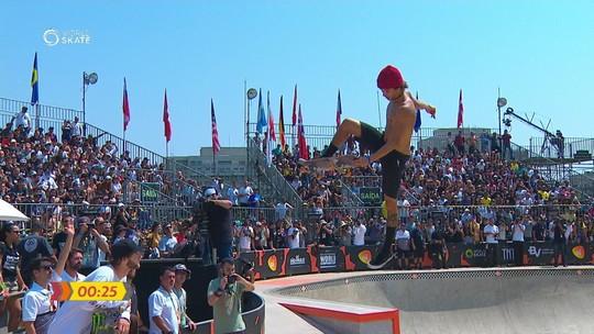 Americano dá show e é campeão do Mundial de Park; Luiz Francisco e Pedro Quintas fecham pódio