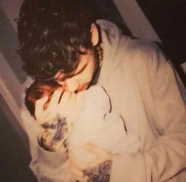 Liam Payne e o filho Bear (Foto: Instagram)