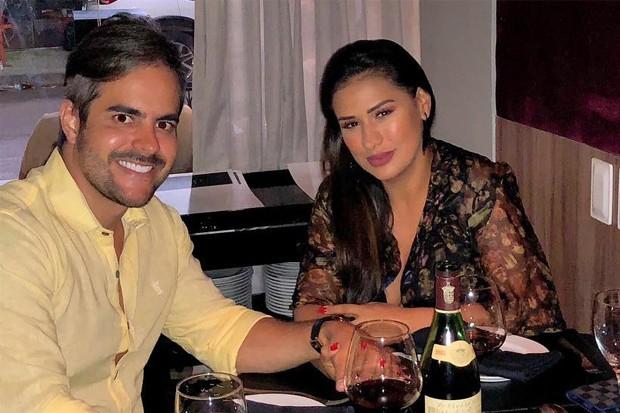Simone e o marido, Kaká Diniz (Foto: Reprodução/Instagram)