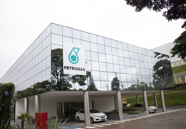 Sede de pesquisa da Petronas, em Contagem, Minas Gerais (Foto: Divulgação/Petronas)