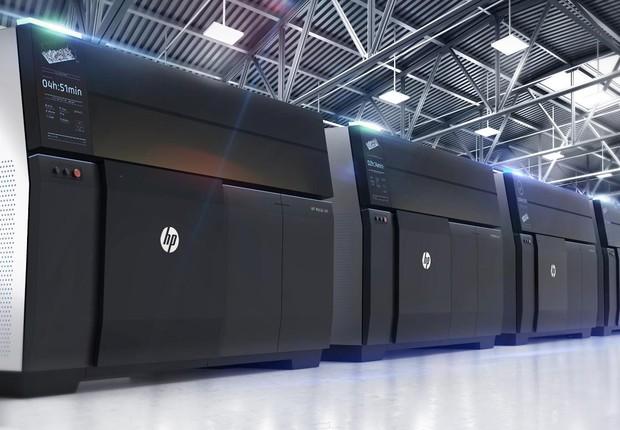 As primeiras unidades da Metal Jet serão entregues em 2020 (Foto: HP/Divulgação)