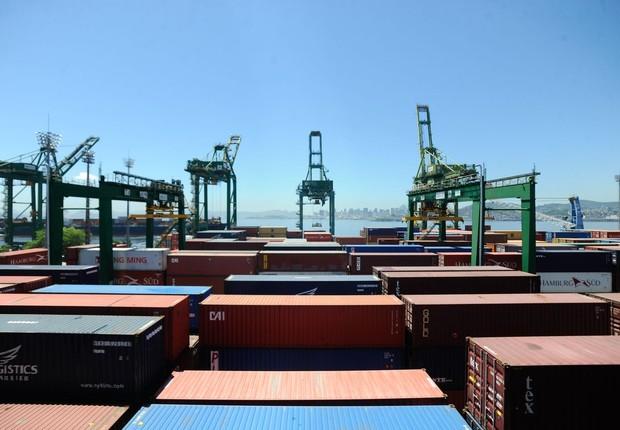 Exportação brasileira (Foto: Tânia Rêgo/Agência Brasil)