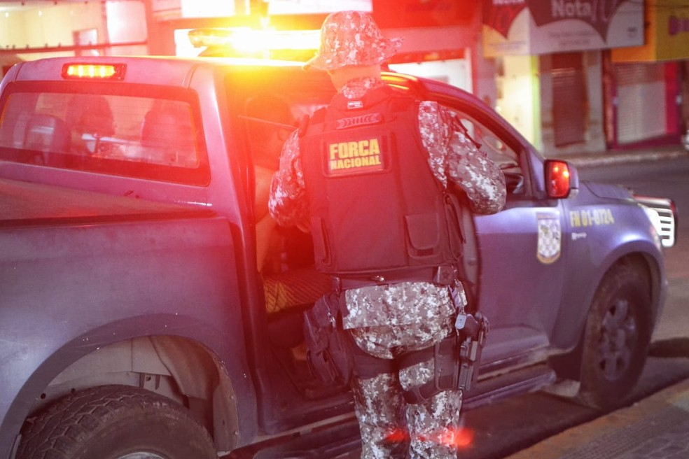 Força Nacional deve permanecer por mais 60 dias no RN — Foto: Acson Freitas/Inter TV Cabugi