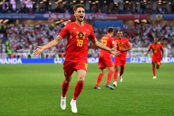 o jogador de futebol bega Adnan Januzaj (Foto: Getty Images)