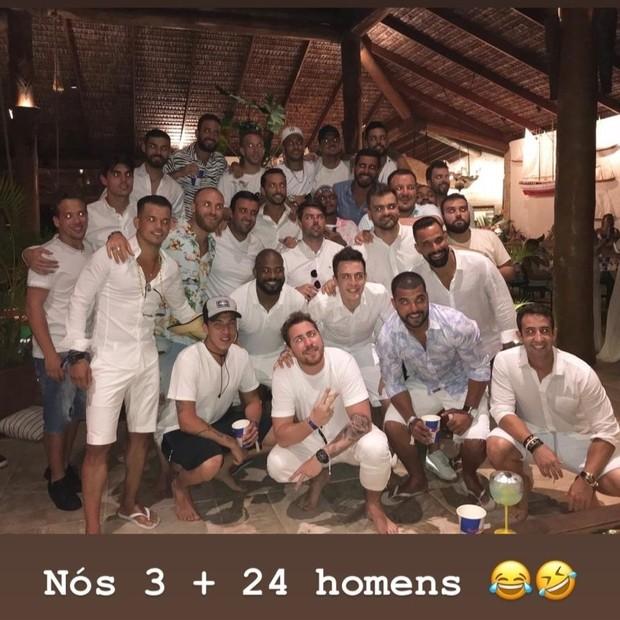 Neymar na noite de Réveillon (Foto: Instagram/Reprodução)