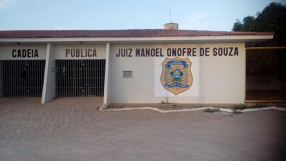 Cadeia Pública de Mossoró (Foto: Assessoria de Imprensa/Sejuc)