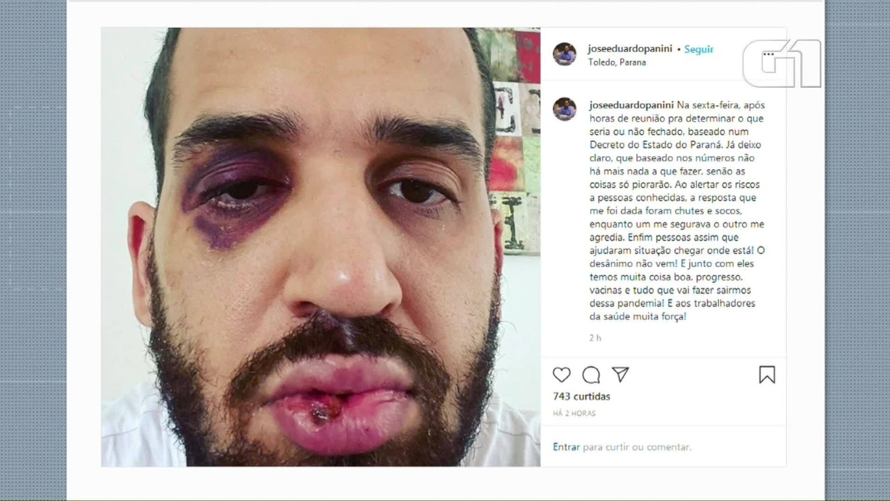 Médico foi agredido por familiar ao falar dos riscos da Covid-19