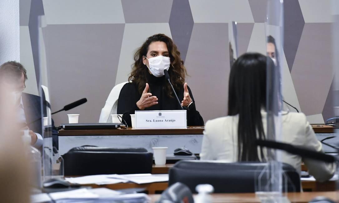 Infectologista Luana Araújo