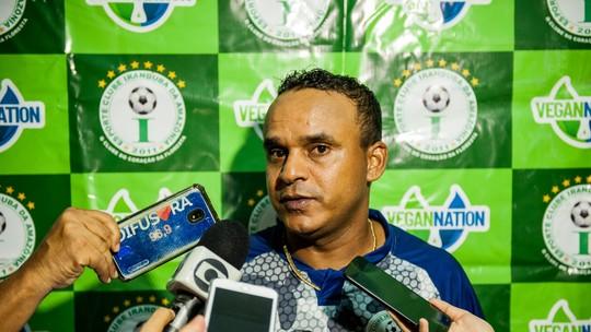 c6596201e6f9a Comandante disse que ansiedade do Iranduba vem desde a reta final do Campeonato  Brasileiro 2018. Clube venceu Vitória nesta sexta