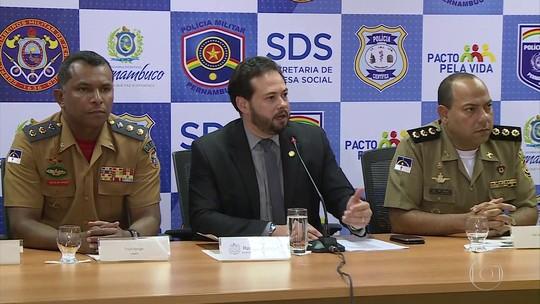 Governo de PE limita horário para emprego de forças de segurança no carnaval de 2018