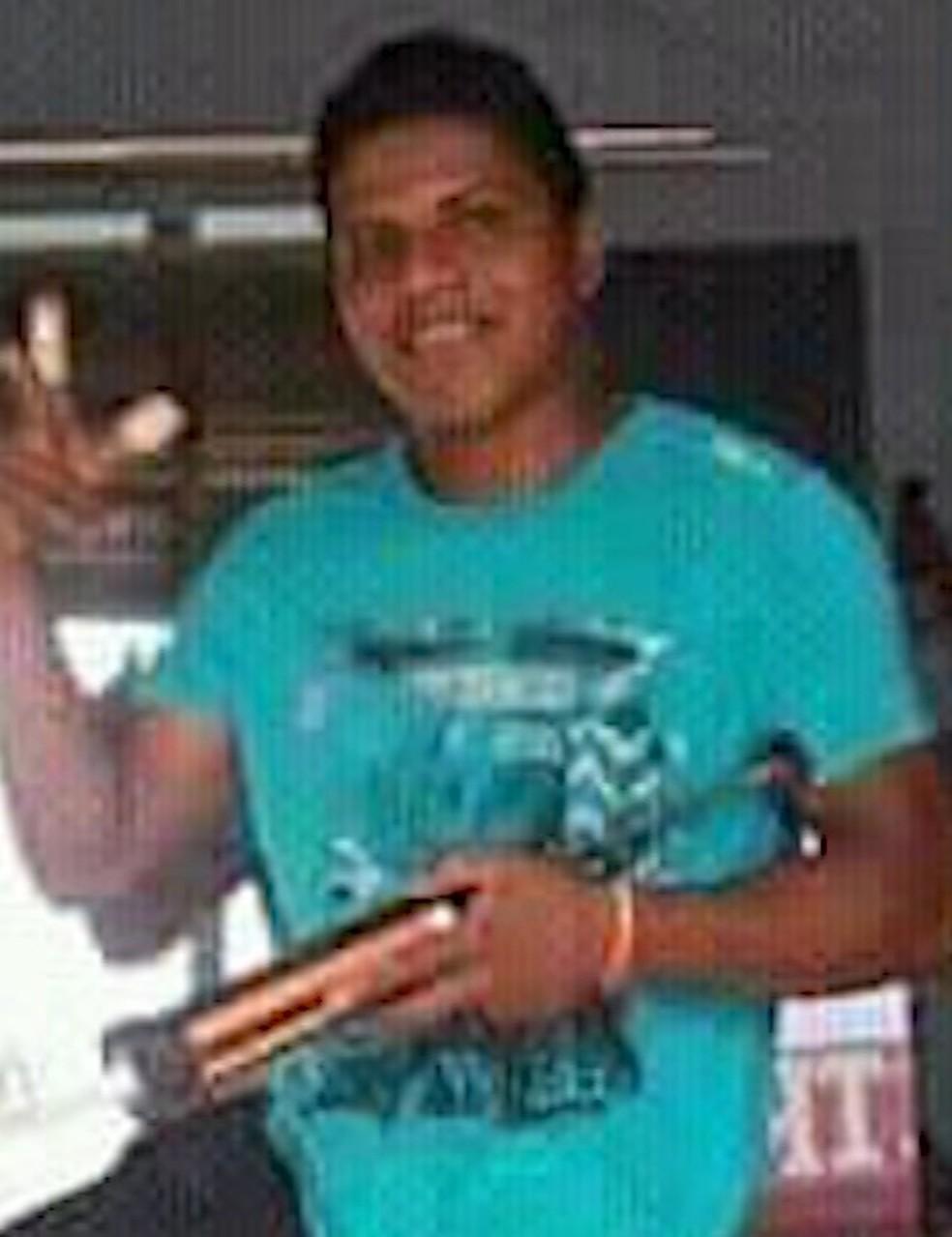 José Filho Balbino dos Santos, de 35 anos, morreu soterrado em obra de fazenda na zona rural de Bom Jardim. — Foto: Divulgação/Arquivo pessoal