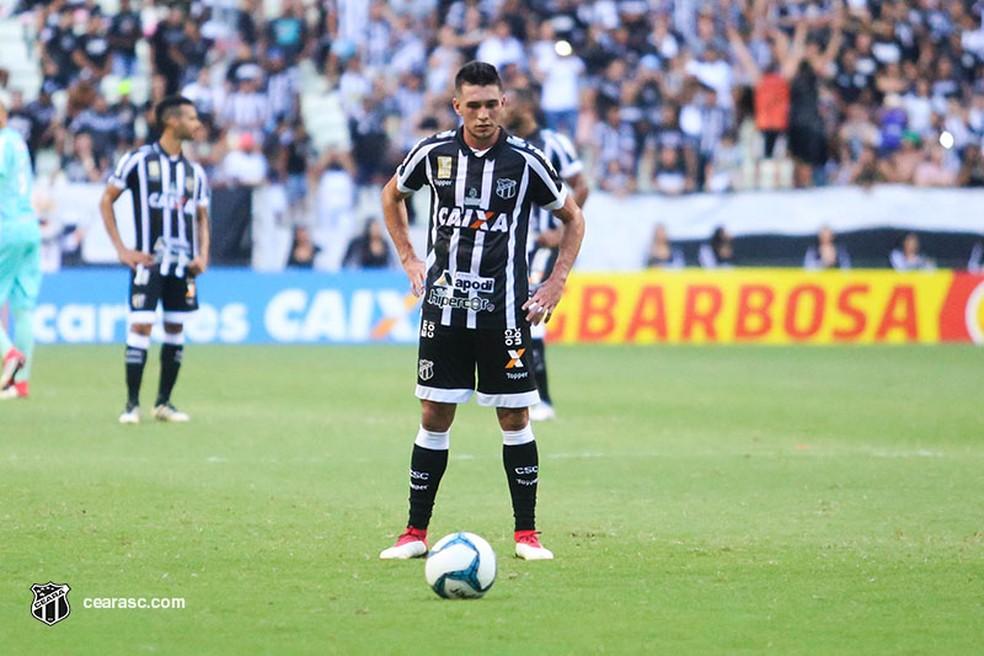 Juninho foi emprestado ao Ceará pello Bahia para a temporada 2018 — Foto: Mauro Jefferson/Cearasc.com