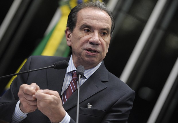 Aloysio Nunes (PSDB) (Foto: Pedro França/Agência Senado)