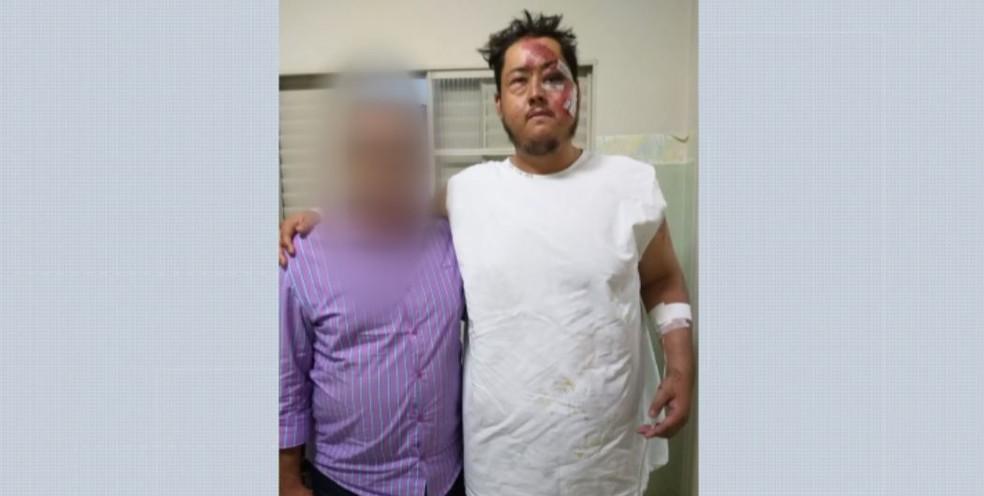 Marcos Paulo Hasimoto foi preso na Santa Casa de Catalão (GO) a 295 quilômetros de Guará (SP), onde aconteceu acidente — Foto: Reprodução