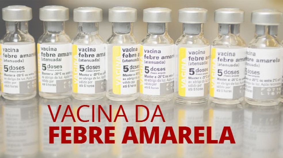 Vacina da febre amarela fica disponível em 43 municípios de Pernambuco a partir de janeiro — Foto: Karina Almeida/G1