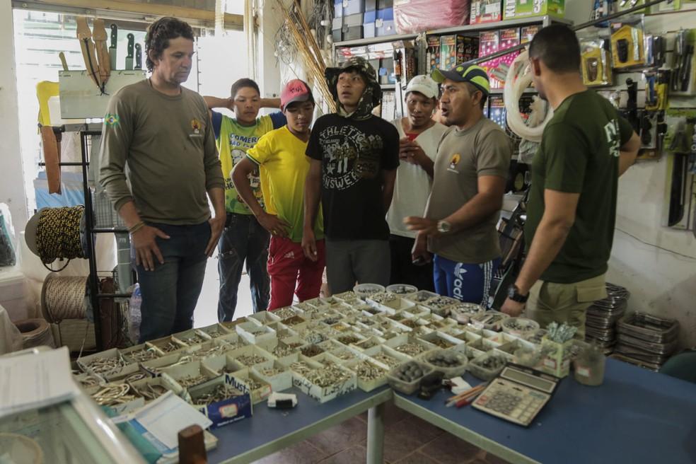 Grupo queria apenas conhecer uma cidade, disse sertanista (Foto: Gleilson Miranda/Secom-AC)