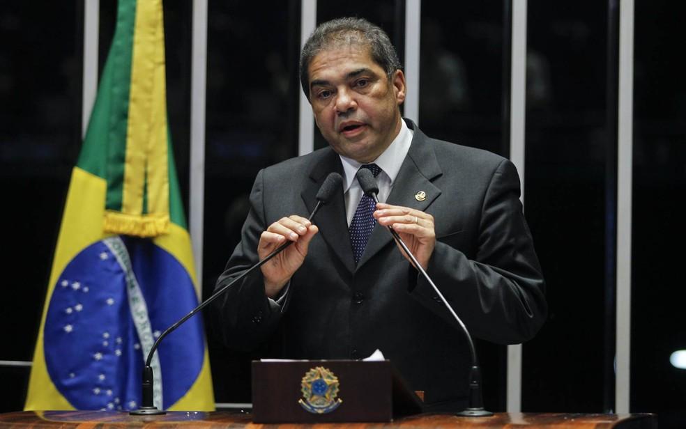 O ex-senador Hélio José (PROS-DF), em imagem de arquivo — Foto: Beto Barata/Agência Senado