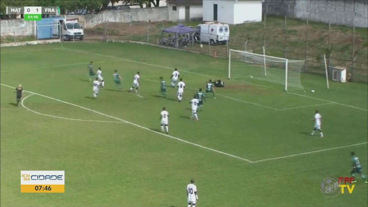 Matonense perde para a Francana em casa pela 4ª rodada da série B do Campeonato Paulista