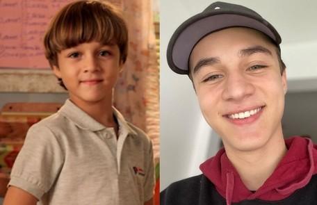 Vitor Figueiredo segue como ator e tem 15 anos. Seu último papel foi em 'O outro lado do paraíso', em 2018 Reprodução