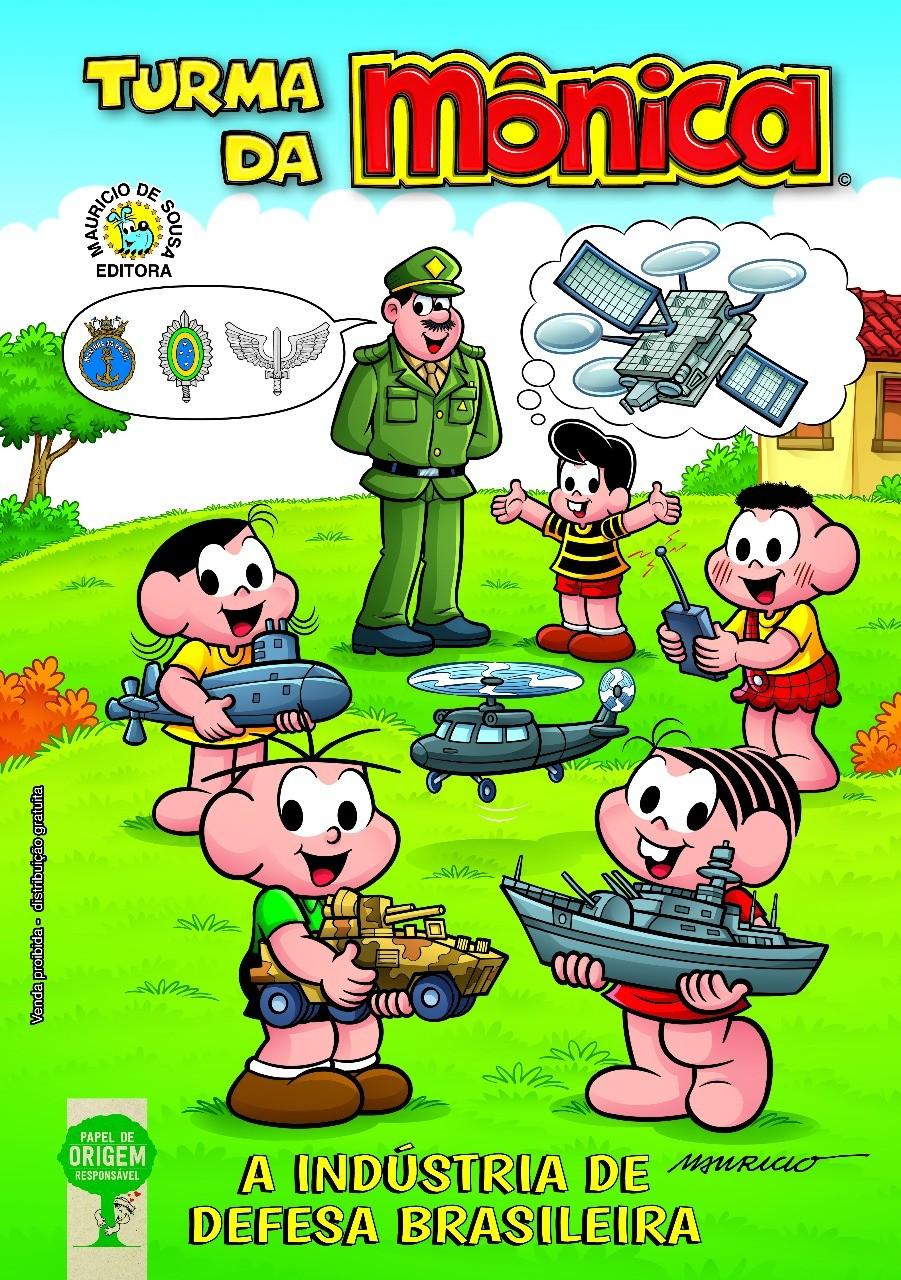 Turma da Mônica defende ações das Forças Armadas