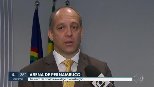 Documentos de órgãos federais apontam superfaturamento de R$ 80 milhões na construção da Arena de PE, diz TCE
