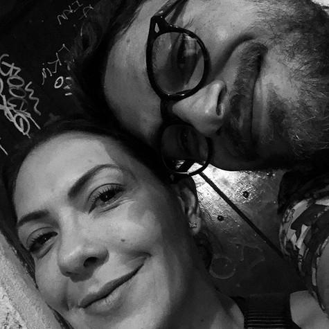 Fabiula Nascimento e Emilio Dantas (Foto: Arquivo pessoal)