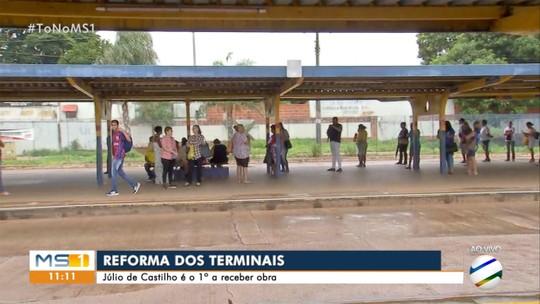 Começa a reforma nos terminais de ônibus de Campo Grande